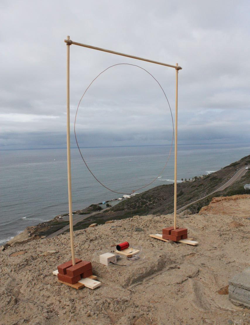 Installation view of Two If By Sea